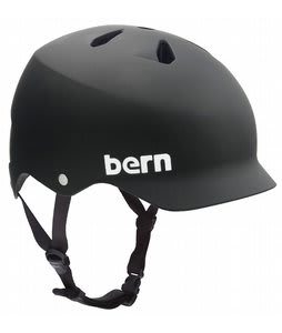 Bern Watts Bike Helmet Matte Black