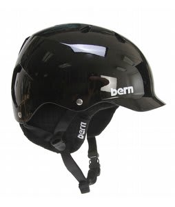 Bern Watts EPS Snowboard Helmet Gloss Black/Black Knit