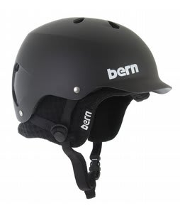 Bern Watts Eps Snowboard Helmet Matte Black/Black Knit