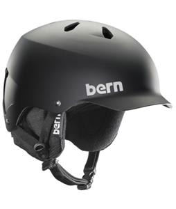 Bern Watts Thinshell w/ 8Tracks Audio Snow Helmet Matte Black/Black Cordova