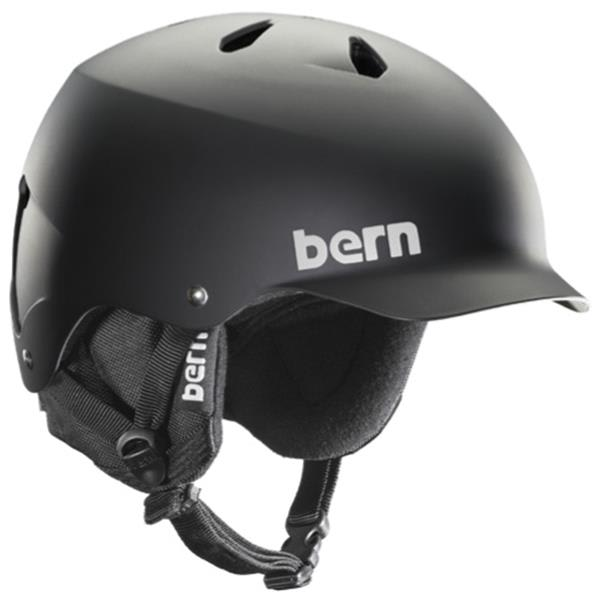 Bern Watts Thinshell w/ 8Tracks Audio Snow Helmet