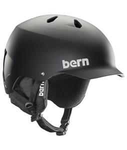 Bern Watts Thinshell Snow Helmet Matte Black/Black Cordova