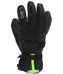 Bern Wrist Protection Gloves Black