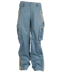 Bonfire Balance Snowboard Pants Island Blue
