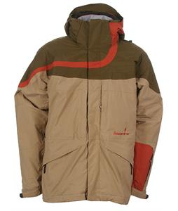 Bonfire Fusion Diffuse Snowboard Jacket Sienna/Olive