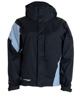 Bonfire Fusion Prism Snowboard Jacket Black/Ocean