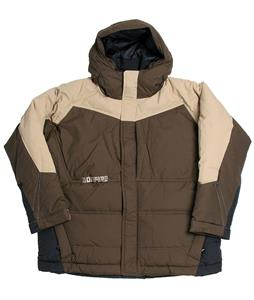 Bonfire Strobe Snowboard Jacket Mocha Brown