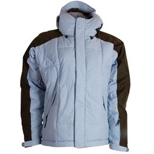Bonfire Fusion Strobe Snowboard Jacket Ocean/Leather