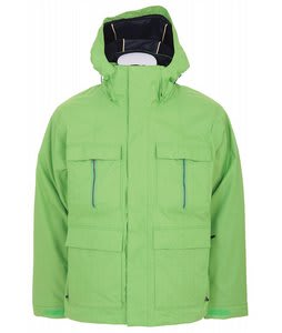 Bonfire Radiant Snowboard Jacket Lime 