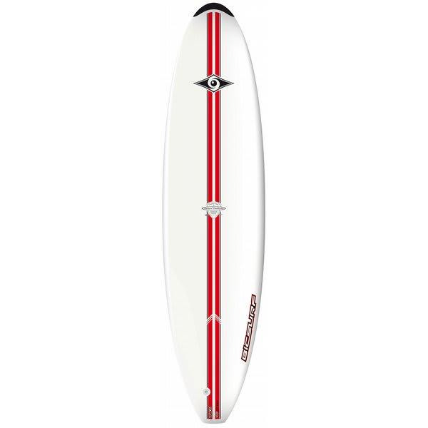 Bic ACS Mini Malibu Surfboard 73 Red