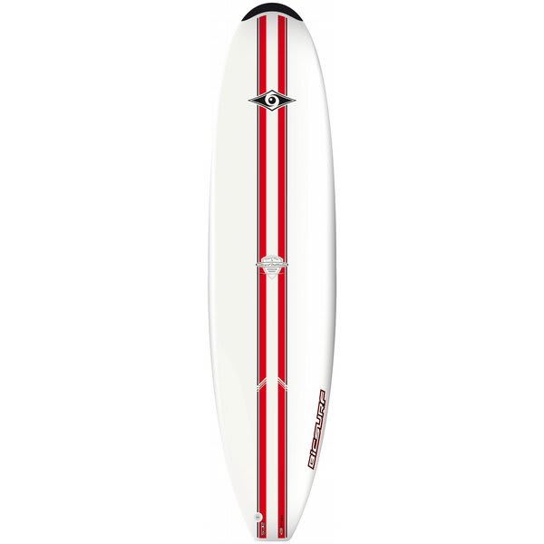 Bic ACS Natural Surf Surfboard 79 Red