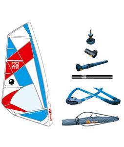 Bic Nova Sail Windsurf Board Rig 6M