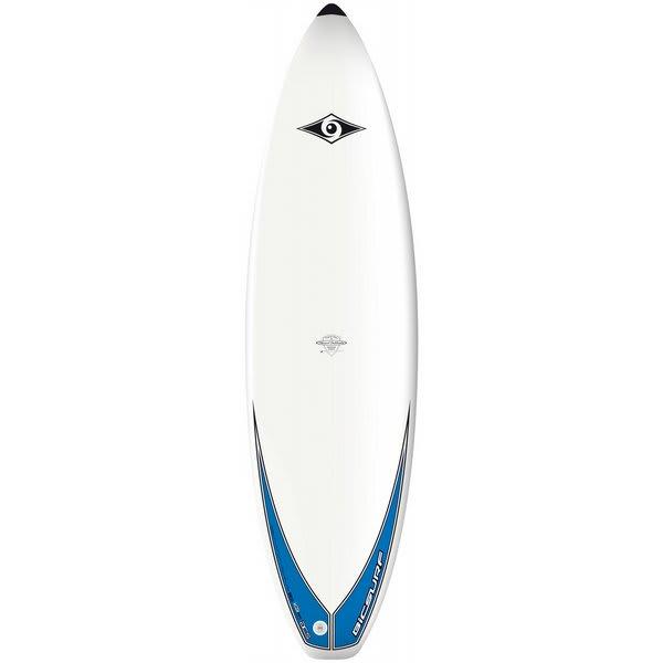 Bic Shortboard Surf Board Blue 6Ft 7In