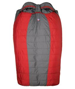 Big Agnes Big Creek 30 Sleeping Bag 3 Season Gray/Red