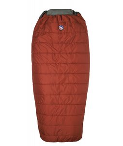 Big Agnes Buffalo Park 40 Right Sleeping Bag Rust