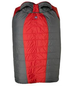 Big Agnes Cabin Creek 15 Sleeping Bag 3 Season Red/Gray