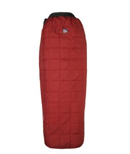 Big Agnes Cross Mountain 45 Regular Right Sleeping Bag Red