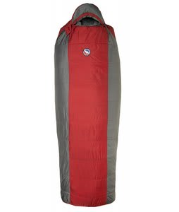 Big Agnes Encampment 15 Regular Right Sleeping Bag Red/Gray