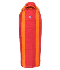 Big Agnes Encampment 15 Long Left Sleeping Bag 3 Season Red/Orange