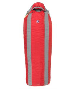 Big Agnes Encampment 15 Sleeping Bag Red/Gray Long Lh