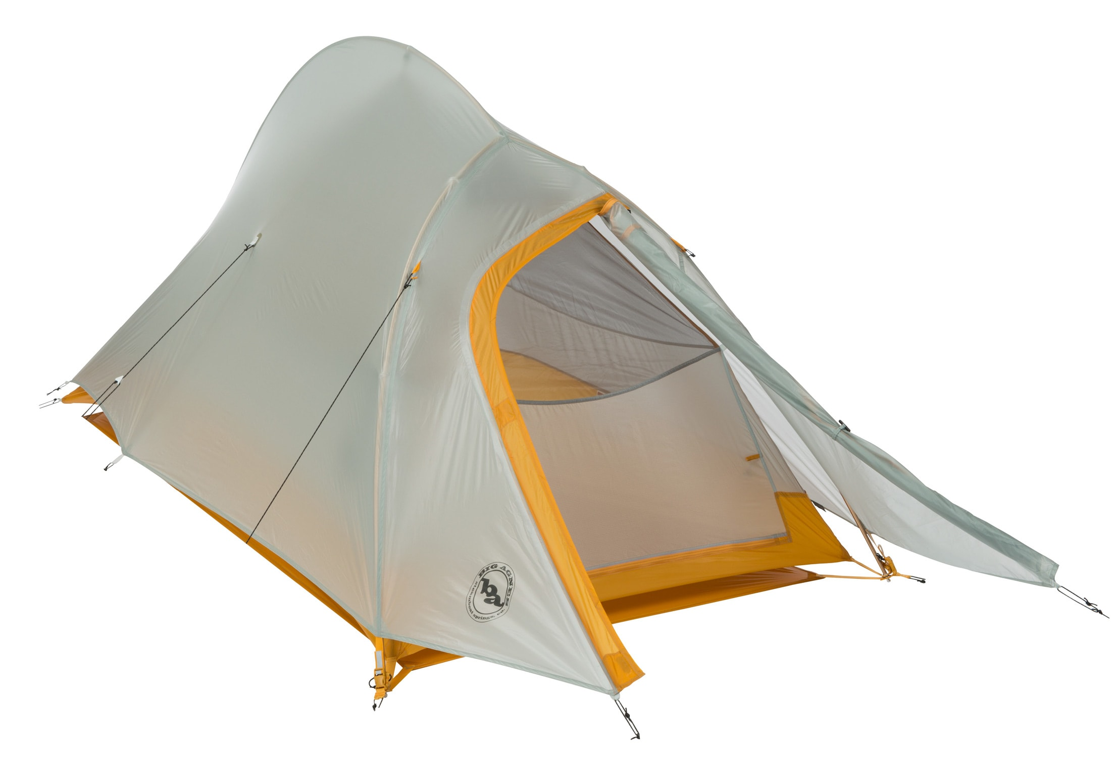 fly creek The big agnes fly creek ul2 is an ultralight, 3-season tent for 2 that weighs in at  a scant 2 lbs 2 oz you get full-on bug protection at a weight that one person.