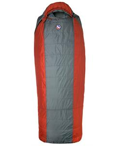 Big Agnes Hog Park 20 Sleeping Bag Coal/Rust Long Lh