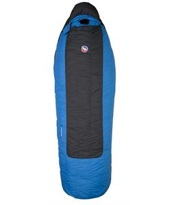 Big Agnes Lost Ranger 15 Long Left Sleeping Bag 3 Season Black/Blue