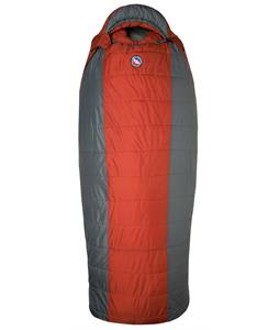 Big Agnes Whiskey Park 0 SLeeping Bag Rust/Coal Long Lh