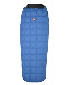 Big Agnes Yampa 45 Regular Right Down Sleeping Bag Blue