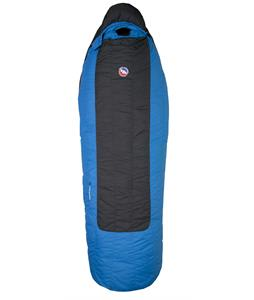 Big Agnes Lost Ranger 15 Regular Right Sleeping Bag Black/Blue