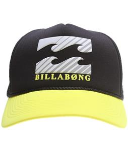 Billabong Amped Cap Black Yellow