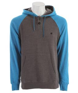 Billabong Balance Pull Over Hoodie Neon Blue Heather