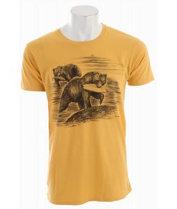 Billabong Catch Of The Day T-Shirt Vintage Gold