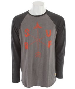Billabong Compass Raglan Dark Grey Heather