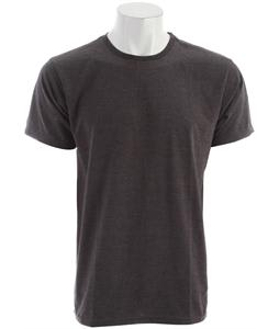 Billabong Essential Crew T-Shirt Black Heather