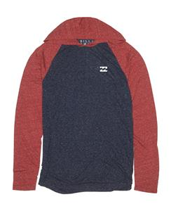 Billabong Essential Hood Raglan Blood Heather