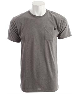 Billabong Essential Pocket Crew T-Shirt Dark Grey Heather