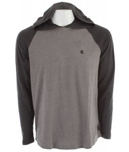 Billabong Essential Hooded Raglan Dark Grey Heather