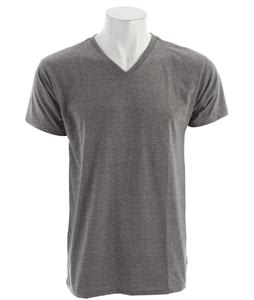 Billabong Essential V Neck T-Shirt Dark Grey Heather