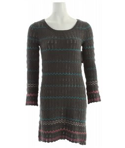 Billabong Forgive And Forget Dress Charcoal Heather