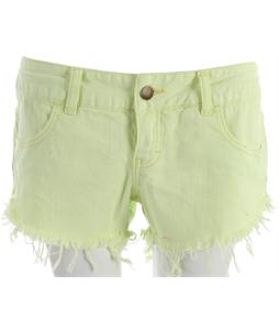 Billabong Laneway Denim Shorts Lemon Twist