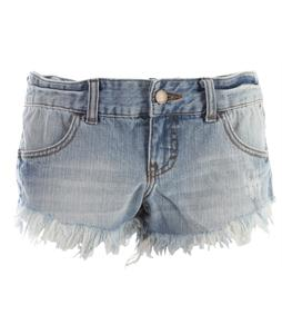 Billabong Laneway Denim Shorts Blue Cloud
