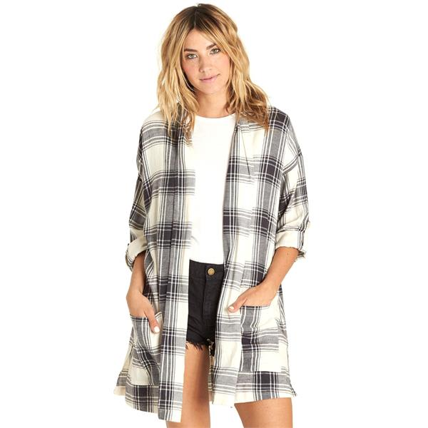 Billabong Live Out Loud Flannel Cardigan