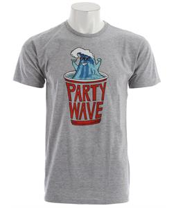 Billabong Party Wave T-Shirt Athletic Heather