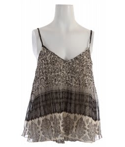 Billabong Pleat It Cami Black/White Cap