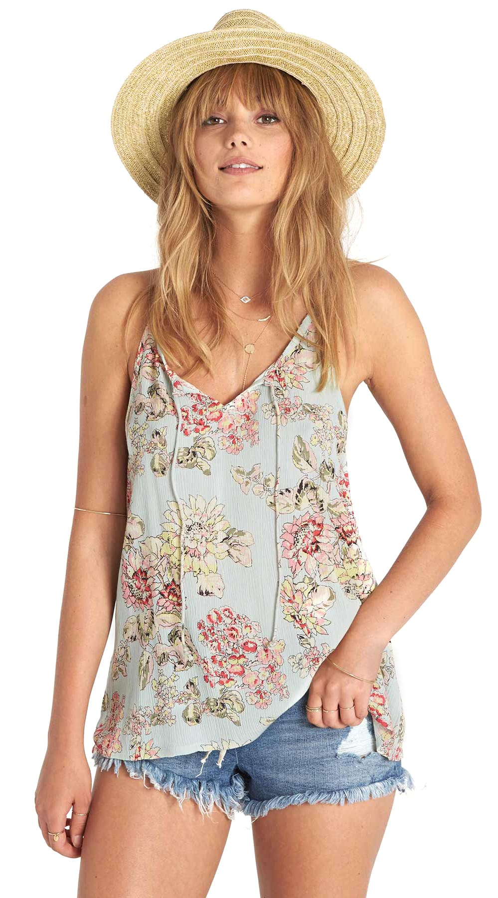 Top Women S Fashion Magazines: Billabong Spring Seas Tank Top