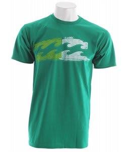 Billabong Two Tone T-Shirt Kelly