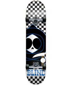 Blind Checkerboard Mid Kenny Skateboard Complete Black/White 7.3in