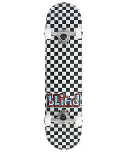Blind Checkerboard Skateboard Complete Black/White 7.75in