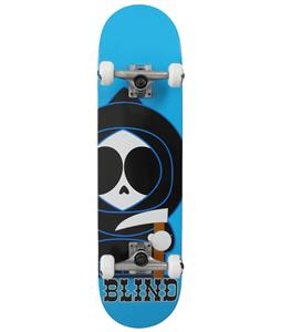 Blind Classic Kenny Skateboard Complete Bright Blue 8in